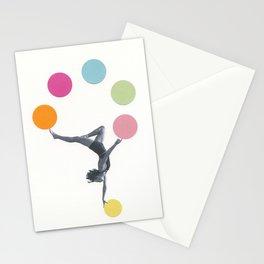 Gymnast Stationery Cards