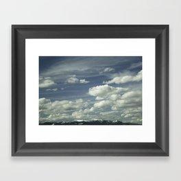 Montana Big Sky Framed Art Print