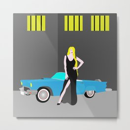 The Breakout Queen  Metal Print