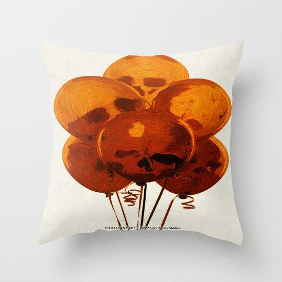 SKULLOONS B21 Throw Pillow