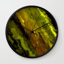 Camouflage Shooting Star Wall Clock