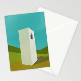 Simple Housing - A love tower Stationery Cards