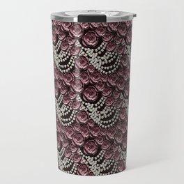 roses and pearls Travel Mug