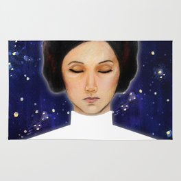 Leia - Stay afraid, but do it anyway Rug