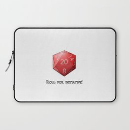 Roll for Initiative Laptop Sleeve