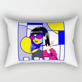 pop art (collab) Rectangular Pillow
