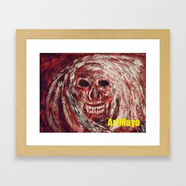 Boogie Man by May'o Framed Art Print
