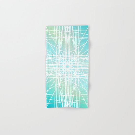 Linear Oceanblast Hand & Bath Towel