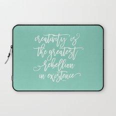 creativity rebellion Laptop Sleeve