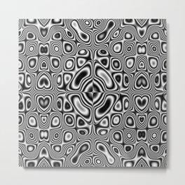 Kaleidoscopic pattern Metal Print
