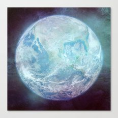 The Blue Marble - Vintage Earth Canvas Print