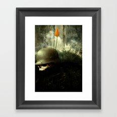 No More War! Framed Art Print