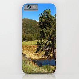 Along Fall River iPhone Case