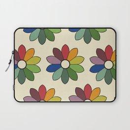 Flower pattern based on James Ward's Chromatic Circle Laptop Sleeve