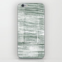 Dolphin Gray abstract watercolor iPhone Skin