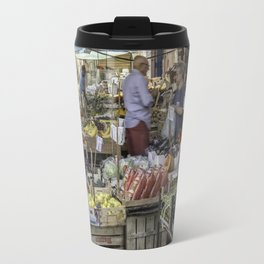Going to the Market Travel Mug