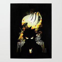 Happy Dragon Natsu Poster