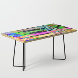 inclined coloured stripes Coffee Table