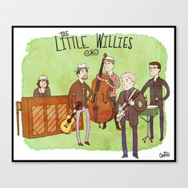 The Little Willies Canvas Print