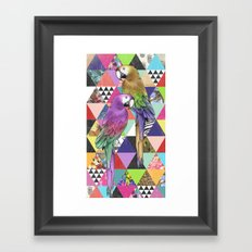 A bit of tropical geometry Framed Art Print