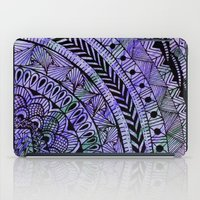 zentangle iPad Cases featuring Zentangle by Doodle Frisson