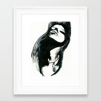 coven Framed Art Prints featuring Coven by ArtbyLumi