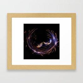 Firework Framed Art Print