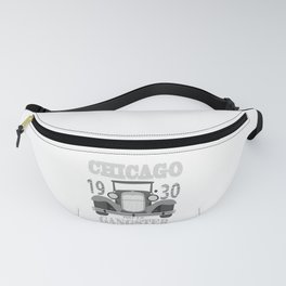 1930s Car Gangster Mob Chicago Mafia Gift Fanny Pack
