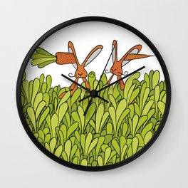 In one ear, out the other Wall Clock