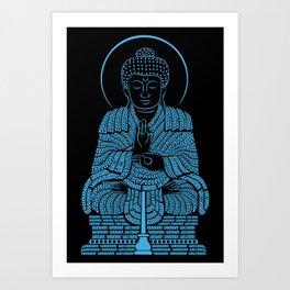 Buddham saranam gacchami Art Print