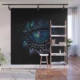 Dragon eye Wall Mural