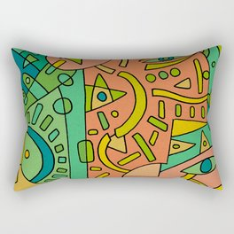 - 2 directions - Rectangular Pillow