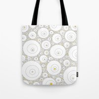 eggs Tote Bags featuring Eggs by Alisa Galitsyna