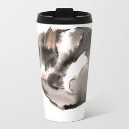 Cat, Sleeping Beauty Travel Mug