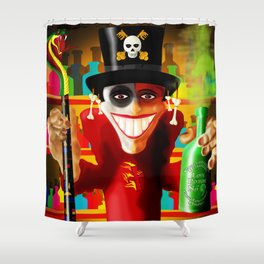 JUJU MAN Shower Curtain