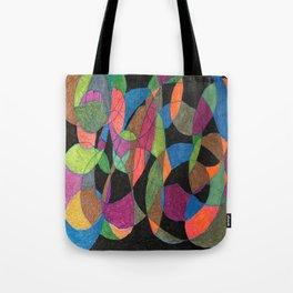 Intertwining Circles Tote Bag