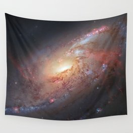 Spiral Galaxy M 106 Wall Tapestry