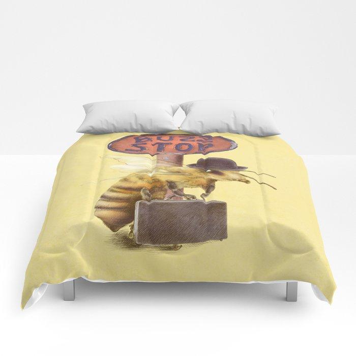 Worker Bee (colour option) Comforters