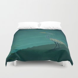 Camouflage: The Crane Duvet Cover