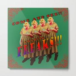 Amazing Freaks!! - Pinhead Metal Print