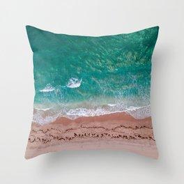 Delray Beach | Crashing Waves Throw Pillow