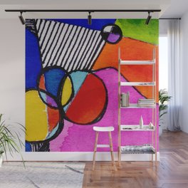 Magical Thinking 7A6 by Kathy Morton Stanion Wall Mural