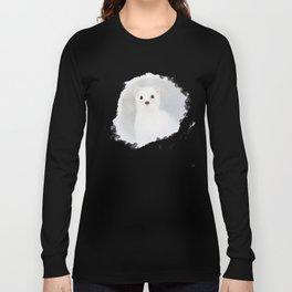 Stoat (Mustela erminea) Long Sleeve T-shirt