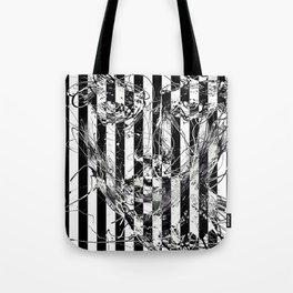 poker faced Tote Bag