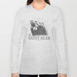 The Saint Bear Long Sleeve T-shirt