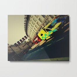 London Call Ambulance Metal Print
