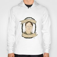 dwight schrute Hoodies featuring Dwight Schrute by Rhian Davie