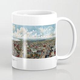 Milwaukee Wisconsin - Vintage Panoramic View Coffee Mug