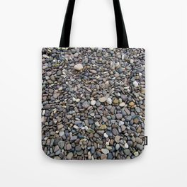 What Stories You Could Tell... Rocks of Jasper Beach Tote Bag