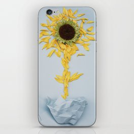 put a flower together for you iPhone Skin
